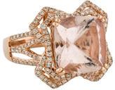 Ring Morganite & Diamond Cocktail