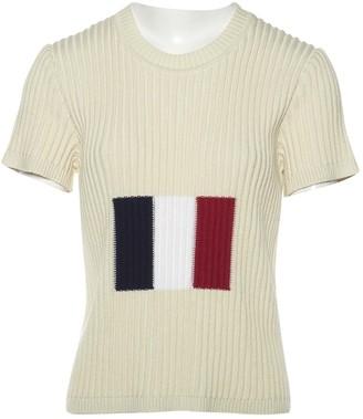 Sonia Rykiel Beige Cotton Top for Women