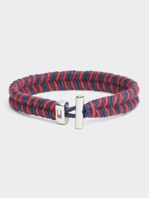 Tommy Hilfiger Braided Wax Cord Bracelet