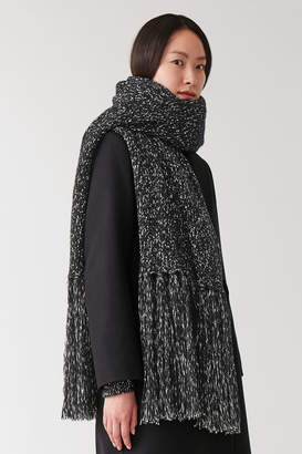 Cos KNITTED BLANKET SCARF
