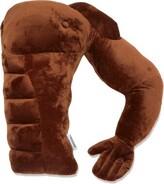 Carmel Original Boyfriend Muscle Man Arm Plush Body Throw Pillow Insert Alwyn Home Color: Brown