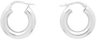 Bottega Veneta Silver Sterling Earrings