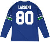 Mitchell & Ness Men's Steve Largent Seattle Seahawks Retro Player Name & Numer Longsleeve T-Shirt