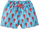 Rachel Riley Lobster Swim Trunks (Baby) - Aqua-18-24 Months