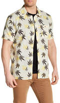 Billabong Collared Short Sleeve Print Tailored Fit Shirt