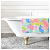 """DENY Designs Rebecca Allen Flourish II Bath Rug Blue (2""""x3"""")"""