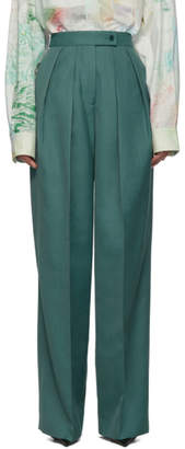 Acne Studios Blue Pristine Suiting Trousers
