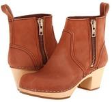 Swedish Hasbeens Zip It Emy (Bordeaux) - Footwear