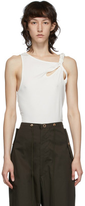 Vejas White Braided Tank Top