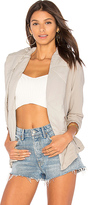 Young Fabulous & Broke Young, Fabulous & Broke Brina Jacket in Light Gray. - size L (also in M,S,XS)