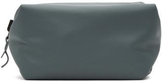 Bottega Veneta Reversible Black and Grey Convertible Wash Pouch