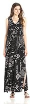 Lucky Brand Women's Gia Patchwork Dress