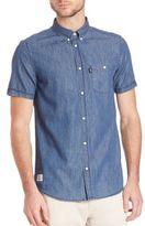 Wesc Orin Denim Casual Button-Down Shirt