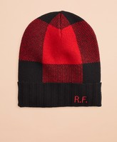 Brooks Brothers Buffalo Plaid Wool-Blend Hat