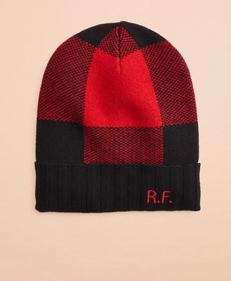 Brooks Brothers Buffalo Plaid Wool-Blend Hat