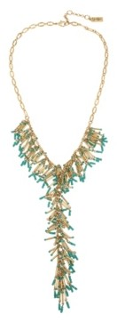 """Jessica Simpson Shaky Bead Y-Necklace, 22"""" + 2"""" Ext"""