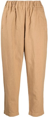 Woolrich Elasticated Cropped Trousers