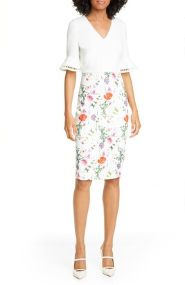 Ted Baker Wesa Floral Bodycon Dress