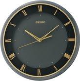 Seiko QXA683K Sweeping Wall Clock, Plastic, Modern