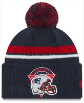 New Era New England Patriots Diamond Stacker Knit Hat