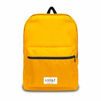 Livolt Spectra Yellow Unisex Adult Backpack Yellow 30 L