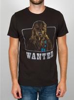 Junk Food Clothing Star Wars Chewie Wanted Tee-black Wash-m