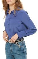 Topshop Petite Women's Crop Mom Jeans
