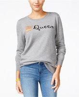 Ultra Flirt Juniors' Burger Queen Graphic Sweater