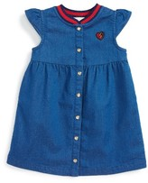 Gucci Infant Girl's Knit Collar Dress