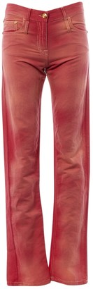 Chanel Pink Cotton Jeans