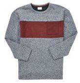 F&F Stripe Detail Marl Sweatshirt, Boy's