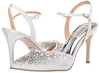 Badgley Mischka Opal (Soft White) High Heels