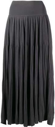 Sminfinity pleated mid-length skirt