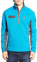 Spyder Men's Fleece Lined Pullover Jacket