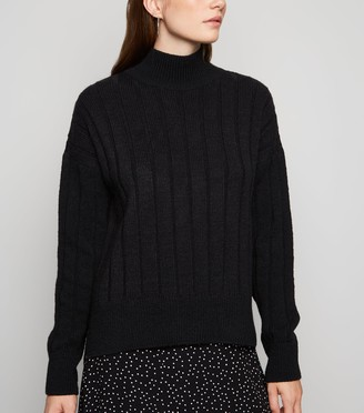 New Look Wide Ribbed Knit Jumper
