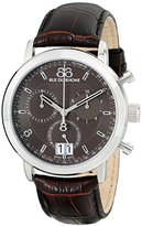 88 Rue du Rhone Men's 87WA130022 Analog Display Swiss Quartz Brown Watch