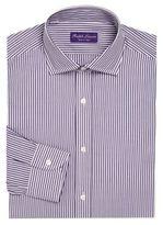 Ralph Lauren Purple Label Regular-Fit Bond Striped Dress Shirt