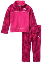 Puma Baby Girl Dotted Jacket & Pants Set