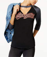 Freeze 24-7 Juniors' Aerosmith Graphic Choker Top