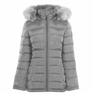 Karrimor Womens Hood Down Jacket Grey Marl 10 (S)
