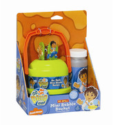 Little Kids Nickelodeon Go Diego Go! No-Spill Mini Bubble Bucket