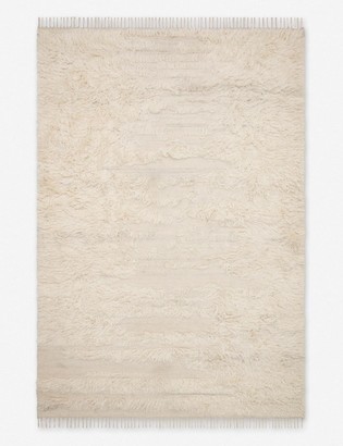 ED Ellen Degeneres Abbot Rug, Natural and Ivory, Crafted by Loloi