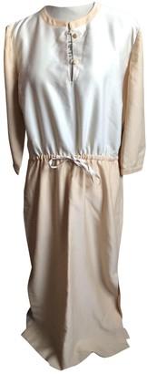 Courreges Beige Wool Dresses