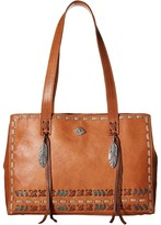 American West Mohican Melody Shopper Tote Tote Handbags