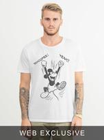 Junk Food Clothing Mickey Whoopee! Yeah! Tee-elecw-l