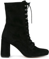 Maryam Nassir Zadeh lace-up Emannuel boots - women - Leather/Suede - 35