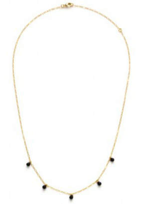 Amano Trading Five graces necklace- Japanese seed beed