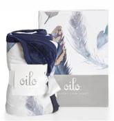 Oilo Feather Crib Sheet & Cuddle Blanket Set