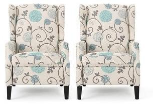 Christopher Knight Home Wescott Contemporary Fabric Recliner