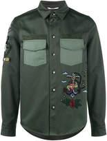 Valentino tattoo embroidered jacket